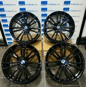 19and039and039 Inch 706m M5 Style New Black Alloy Wheels Fits Bmw 3 4 5 6 Series M3 M4