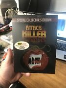Attack Of The Killer Tomatoes Dvd Special Collector's Edition Oop Sealed W/ Ost