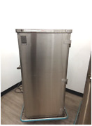 Pedigo Surgical Case Cart Stainless Steel Enclosed W/ Shelves Free Shipping