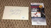 John Candy Signed 3x5 Index Card Jsa Autograph Best Always Uncle Buck Spaceball