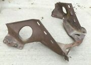 1934 Ford Victoria Rear Body Mounts / Support Braces Original Pair