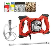 1800w Electric Handheld Concrete Mixer Cement Stirrer For Mixing Grout Paint Mud