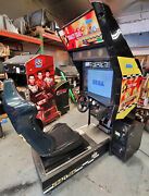 Crazy Taxi Arcade Driving Racing Video Game Machine Awesome Classic Driver