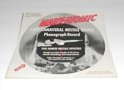 Marx-atomic Play Set Picture Record Cape Canaveral Missile Range Space Talk