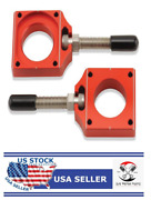 Bolt Motorcycle Hardware Chad-rmz.rd Red Chain Adjuster Block - A2