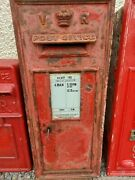Vr Wall Post Office Box Post Box Royal Mail Middle Size For Restoration