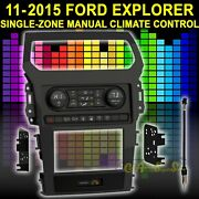 Metra 99-5852ch Radio Install Kit For 11-2015 Ford Explorer Single Climate Cntrl