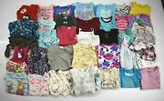Bulk Lot Of 36 Girls Youth 6/6x Shirts Long And Short Sleeve Tops Dresses Thermals