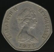 1972 Seychelles 5 Rupees Coin | World Coins | Pennies2pounds