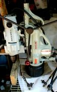 Bux Magnetic Base Drill With Swivel Base And Rockwell Drill 3/4 Hp