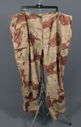 Menand039s 1990s 3xl Chocolate Chip Desert Camo Us Army Bdu Cargo Pants 90s Vtg