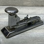 Ace / Pilot Stapler Model 404 Made In Usa Chicago Ill Vintage Mid-century