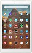New Fire Hd 10 2019 Release Tablet/e-reader White 32gb/10.1 In Hd