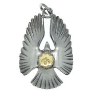 Goroand039s Eagle Pendant Necklace With Metal Bird Silver Gray Gold Elegant Accessory