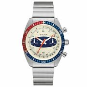 Bulova Archive Series Limited Edition Chronograph A Surfboard Automatic Watch 98