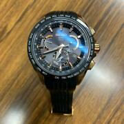 Seiko Astron 8x53-0ac0-2 Japan Used World Time Gps Solar Mens Watch Auth Works