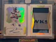 🔥2020 Panini Flawless 1/2 Russell Wilson Autopatch Booklet Seahawks🔥