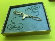 Vintage Hopalong Cassidy Bull Tie Clip By Anson In Original Box