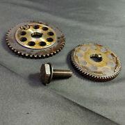 2004 Grand Prix Engine Cam Camshaft Timing Gears Sprockets With Mounting Bolt