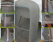 Ford Truck Steel Grille And Insert W Crank Hole 1930s Original