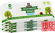 Pogiand039s Grooming Wipes Hypoallergenic Pet Wipes For Dogs And Cats - Plant-based