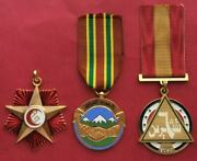 Irak , 6th October 1973 Crushing The N Rebellion 1964 War Wounded Medals , Rare