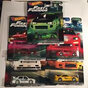 Hot Wheels Fast And Furious Original Cars Set Of 5. New.