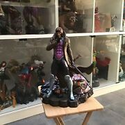 Gambit Custom 1/4 Scale Statue Not Xm Or Prime One Rare Xmen Low Number 6