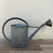 Vintage French Watering Can Rustic Farmhouse Decor Galvanized Garden 28082128