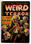 Weird Terror 12 2.0 Precode Horror 1954 Off-white Pages