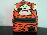 Loungefly Disney Winnie The Pooh Tigger Cosplay Mini Backpack New With Tags