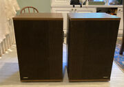 Pair Of Vintage Bose 501 Series Iv Direct-reflecting Speakers, Excellent, Tested