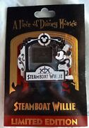 Dlr Podm Piece Of Disney Movie Le 2000andnbspdisney Steamboat Willie Pin Mm Whistling