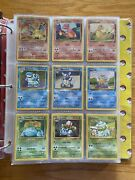 Pokemon Card Lot Vintage 200+ Cards 30+ Holos Charizard With Swirl