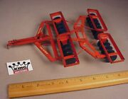 Vintage 1950and039s Tru Scale Tandem Harrow Disc Plow 116 Metal Farm Tractor Toy