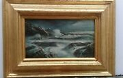 Seascape / Edgar Payne - Antique Oil Painting Marine / Signed / Attributed Art