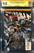Frank Miller And Jim Lee 4x Entire Team Signed All Star Batman And Robin 1 Cgc 9.0
