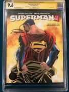 Frank Miller Signed Superman Year One 1 Cgc 9.6 Comic Book Not Cbcs