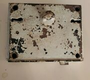 Large Early Antique Double Lock 2 Key Large Door Lock Bank Vault Jail Cell
