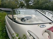 Glastron Mx-185 Starboard Front Curved Windshield This Single Piece Only