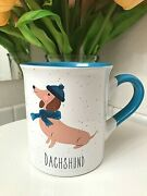 Dachshund In Hat And Scarf Novelty Animal Coffee Mug Cup Dishwasher Microwave Safe