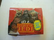 Star Wars Return Of The Jedi Full Candy Display 18 Containers