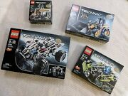 [all New And Sealed In Box] - Lego Technic Bundle - Four Complete Sets