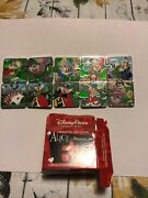Disney Alice In Wonderland Puzzle Mystery Pin Set Complete Le Of 1100