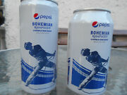 2 Pepsi Soda Cans From Bohemian Rhapsody The Movie. Empty In Perfect Condition.
