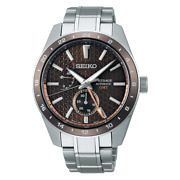 Seiko Boutique Limited Presage Sarf009 Sharp Edged Series Gmt Automatic Watch