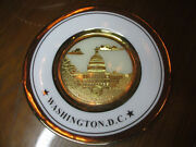 Screen Used Scandal Oval Office Washington D.c. Gold Plate Fitz Production Prop