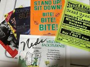 Michigan State Vintage Newspaper Flyers1990and039s/store Bags