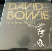 David Bowie five Years 1969 1973 Brand New Gold Cd Collectors Not China Fake
