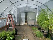 20x20 Quonset Style Greenhouse Kit Hoop House Tunnel Free Shipping